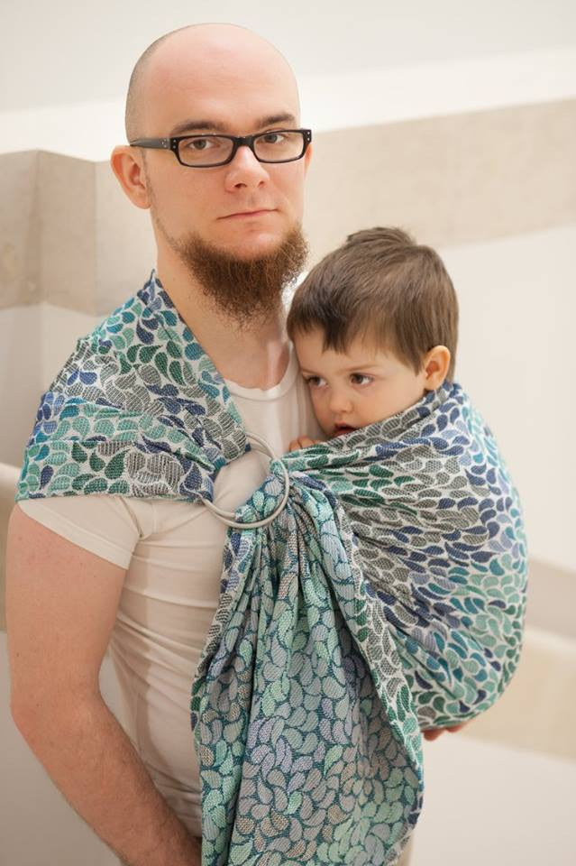 Lenny Lamb Ring Sling - Colours of Heaven - Slings and Things