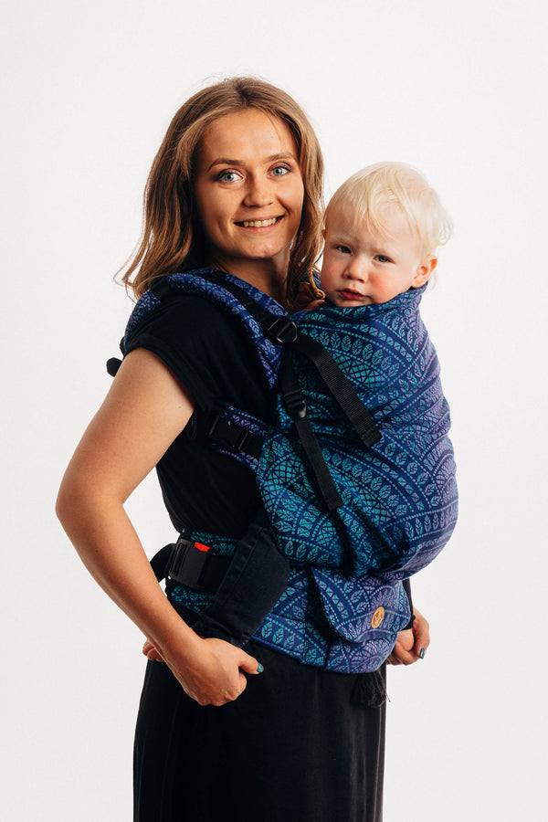 LennyPreschool Carrier - Peacock's Tail Provance