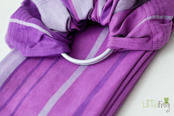 Little Frog Ring Sling - Amethyst - Slings and Things