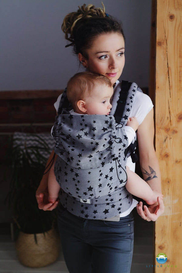 Little Frog Ergonomic Carrier - Day Sky - Slings and Things