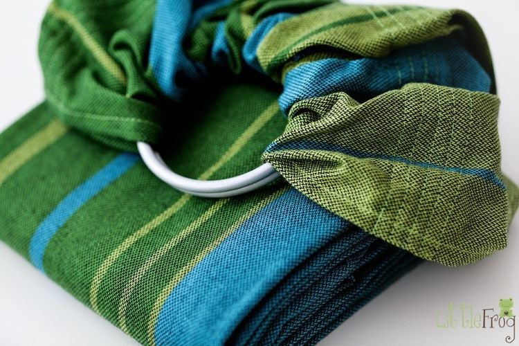 Little Frog Ring Sling - Azurite *estimated despatch Wednesday 7th Sep* - Slings and Things
