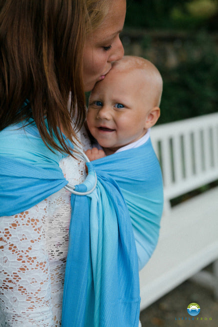 Little Frog Ring Sling - Blue Euclase - Slings and Things
