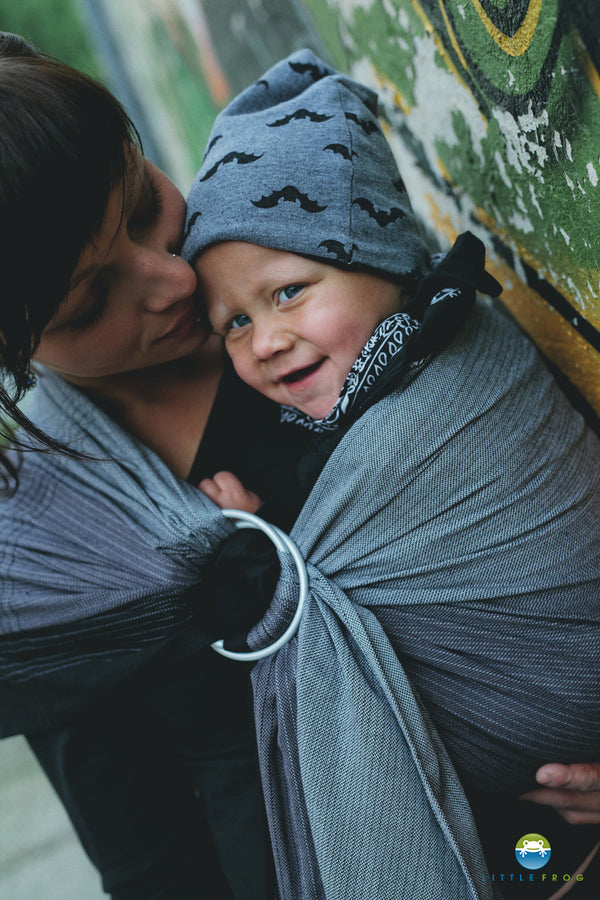Little Frog Ring Sling - Obsidian - Slings and Things