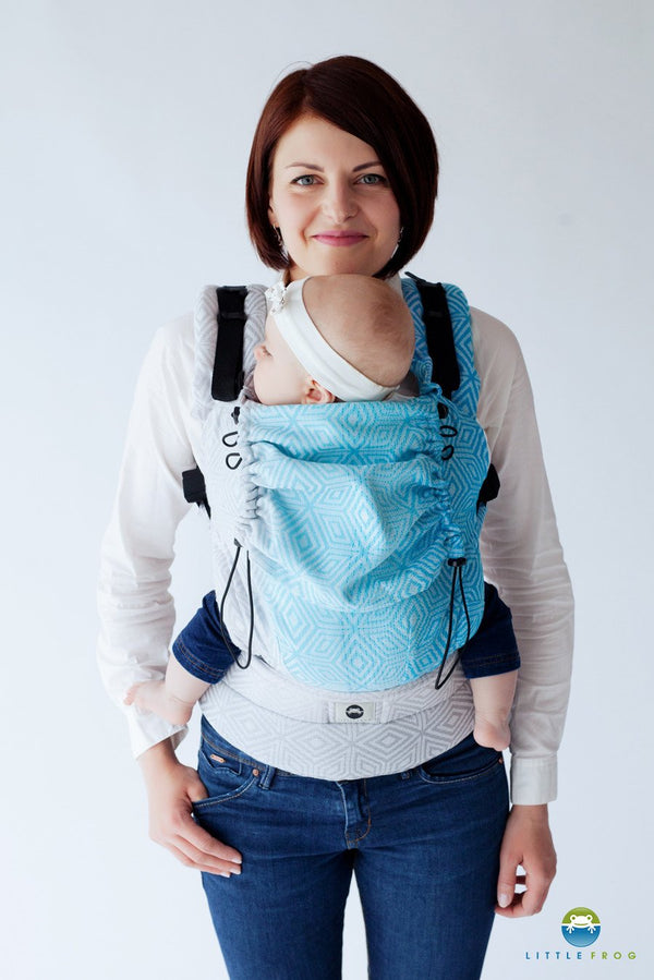 Little Frog Ergonomic Carrier - Sky Cube 2 - Slings and Things