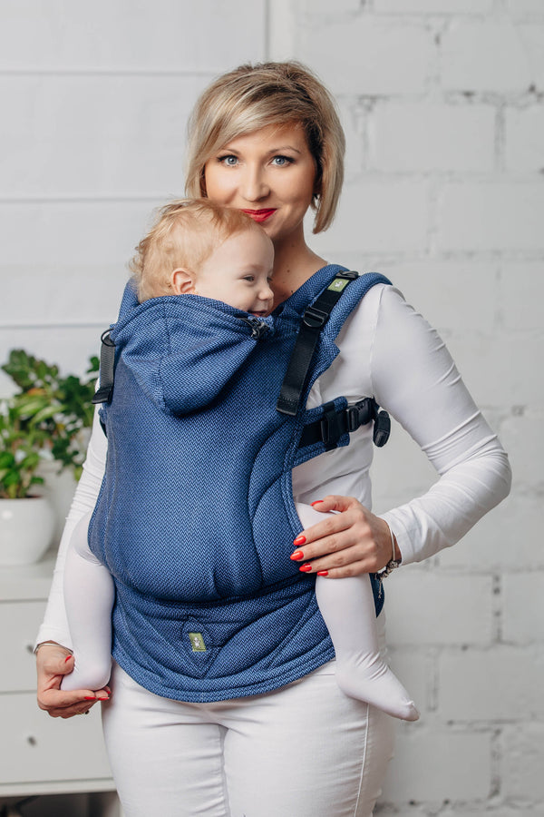 Lenny Lamb Ergonomic Carrier - Basic Line Cobalt - Slings and Things
