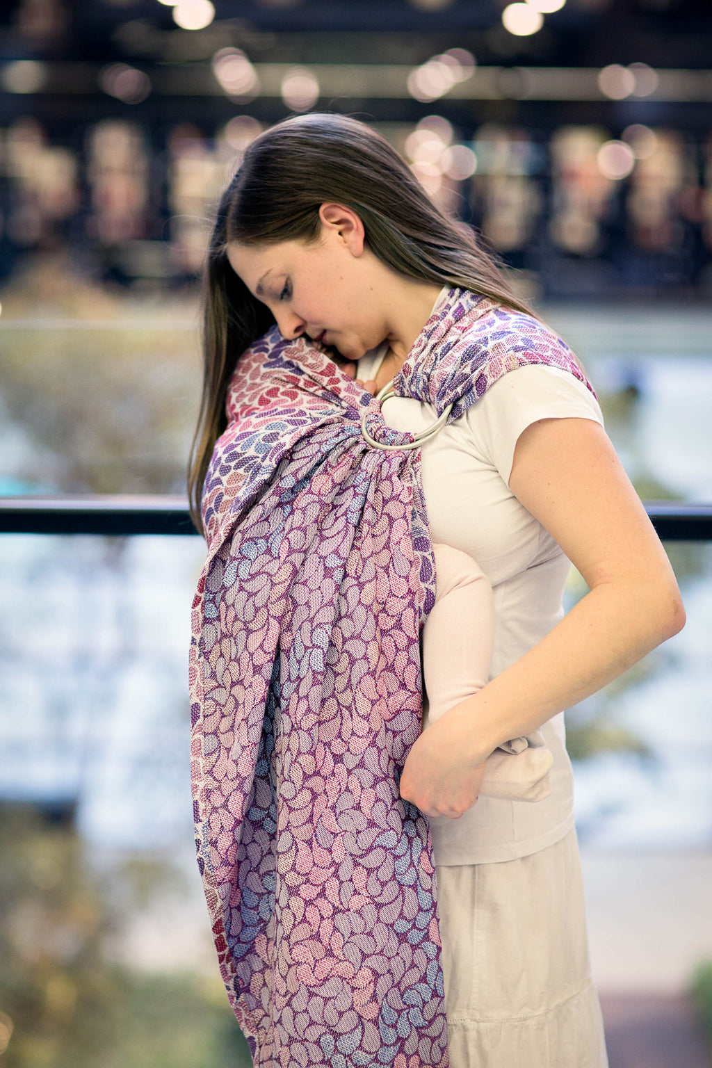 Lenny Lamb Ring Sling - Colours of Fantasy - Slings and Things