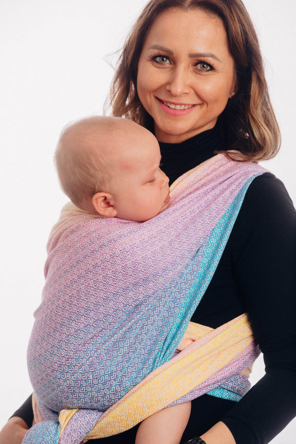 Lenny Lamb Woven Wrap - Little Love Candyland