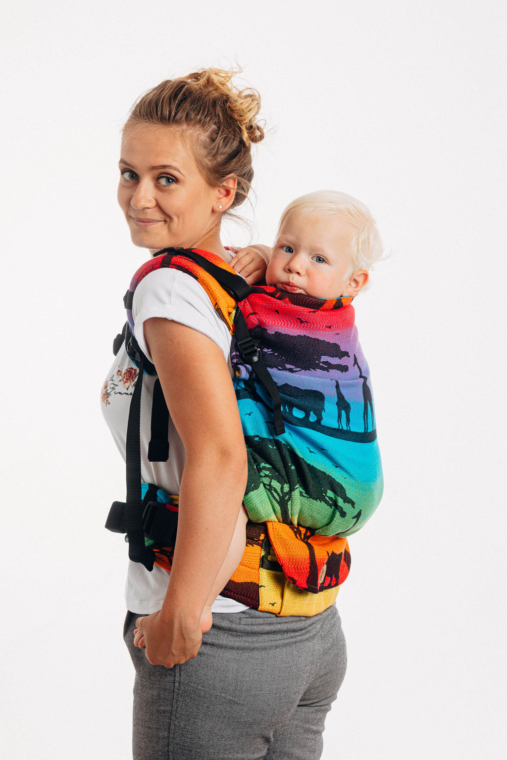 LennyPreschool Carrier - Rainbow Safari 2.0