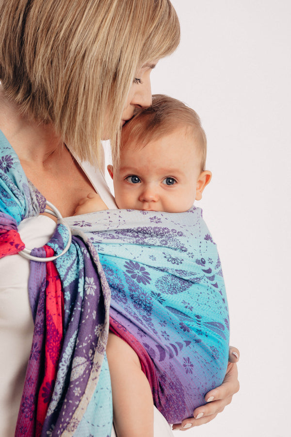 Lenny Lamb Ring Sling - Dragonfly Farewell to the Sun - Slings and Things