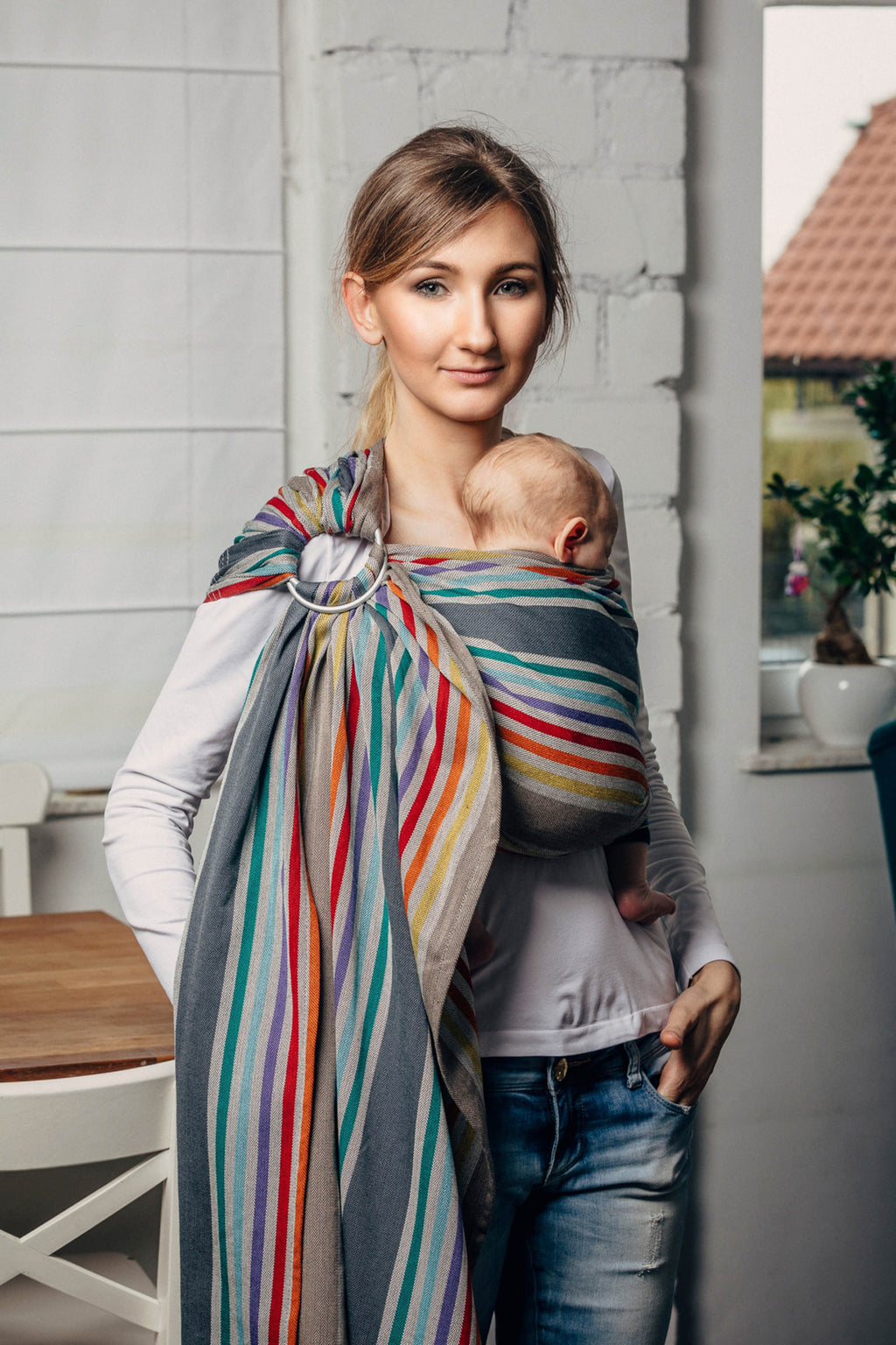 Lenny Lamb Ring Sling - Oasis - Slings and Things