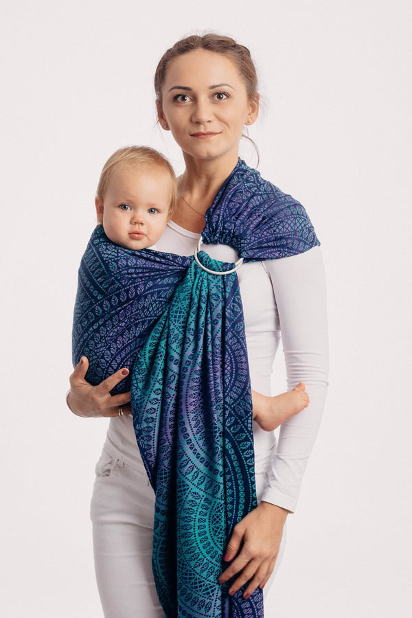 Lenny Lamb Ring Sling - Peacocks Tail Provance - Slings and Things