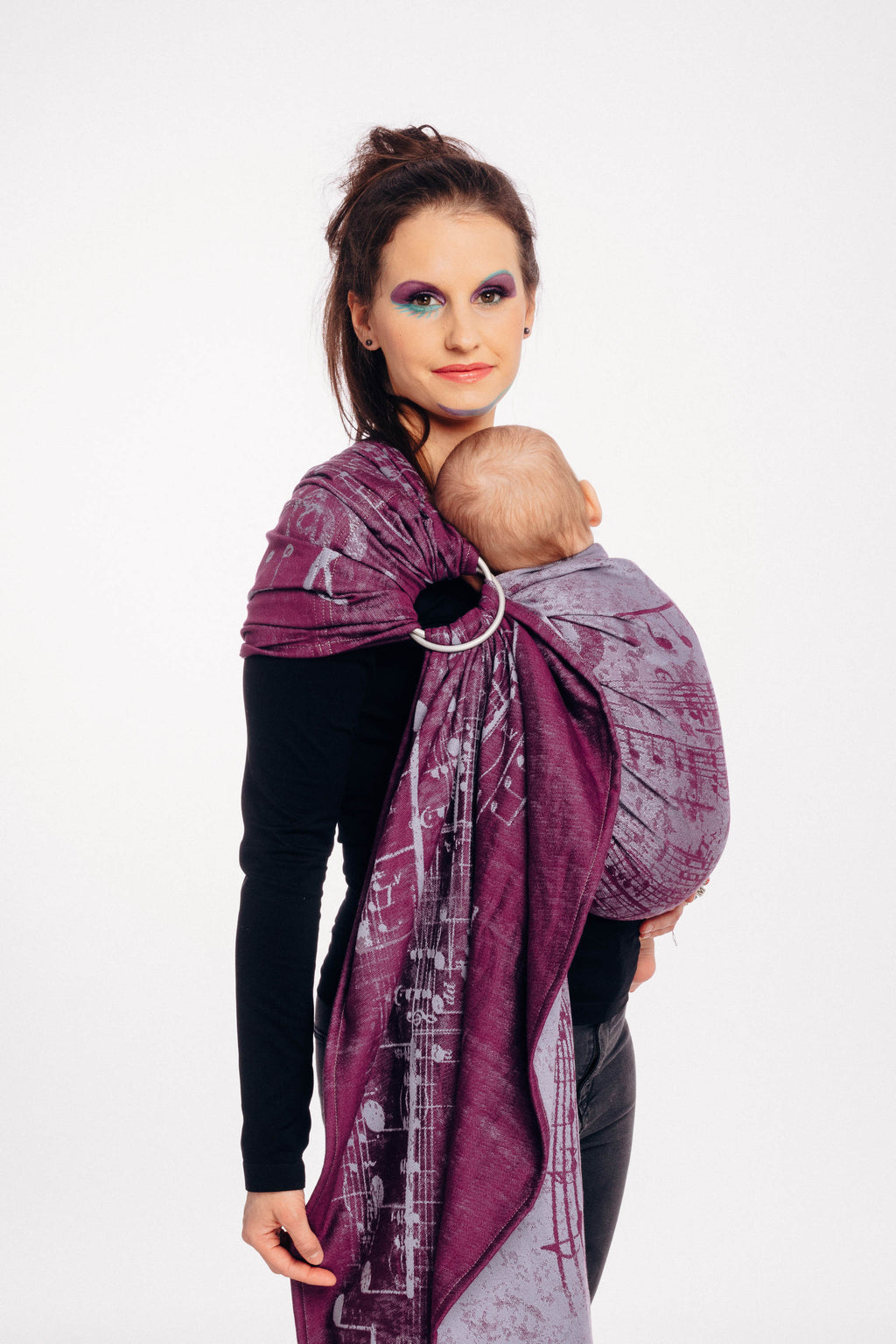 Lenny Lamb Ring Sling - Symphony Pear of Love - Slings and Things