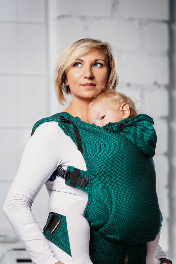 Lenny Lamb Ergonomic Carrier - Basic Line Emerald - Slings and Things