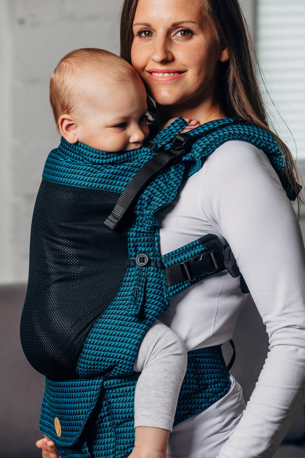 LennyUpGrade Mesh Carrier - Tanzanite - Slings and Things