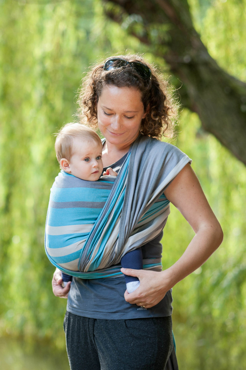 Lenny Lamb Woven Wrap - Misty Morning - Slings and Things