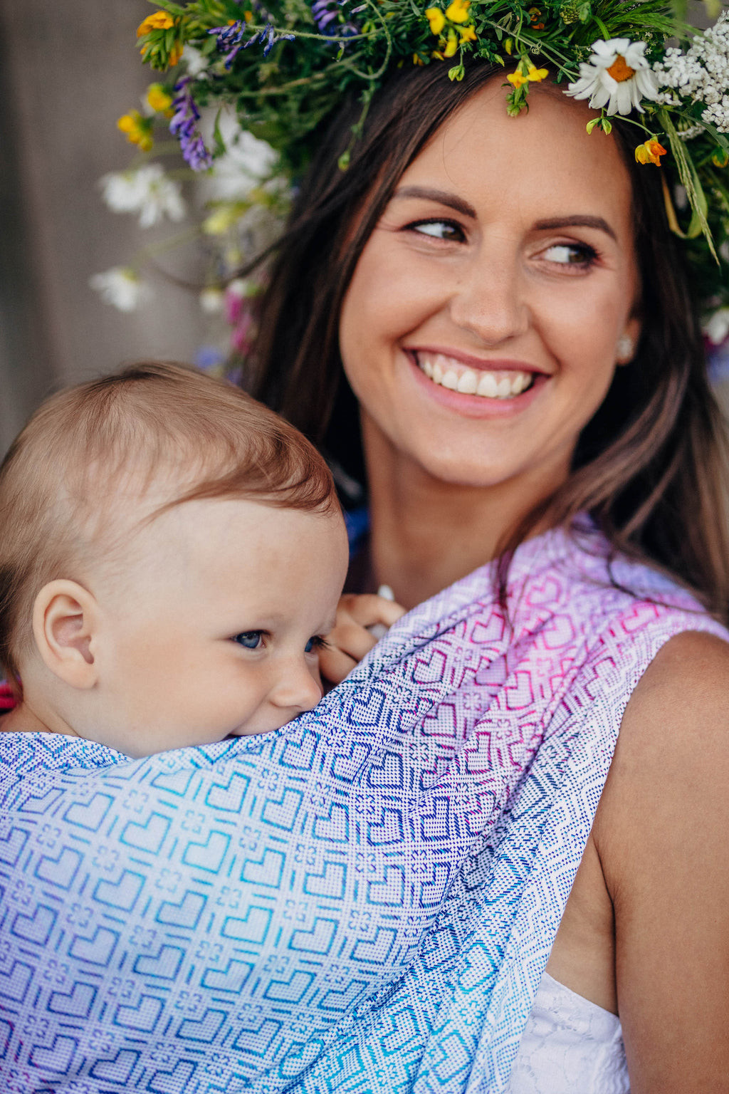 Lenny Lamb Woven Wrap - Big Love Wildflowers