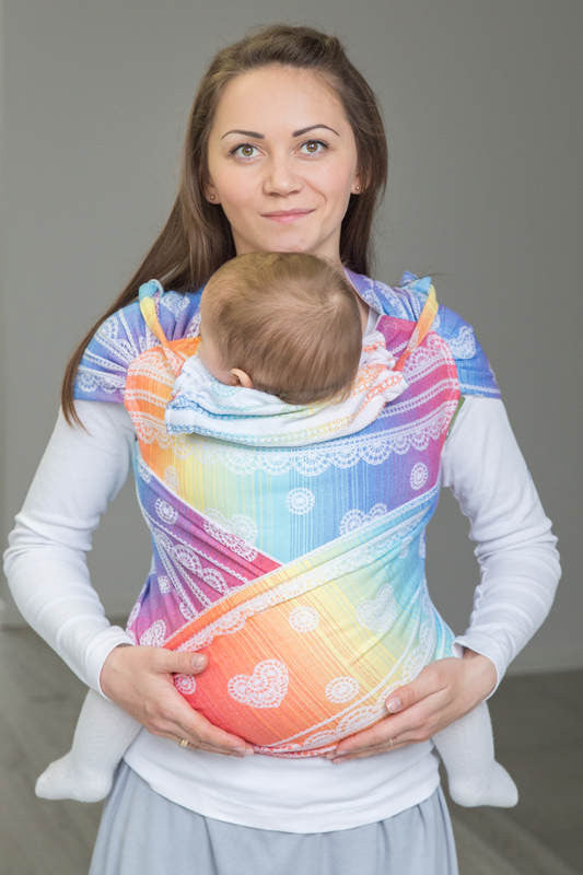 Lenny Lamb Wrap Tai - Rainbow Lace *estimated despatch Wednesday 15th Feb* - Slings and Things  - 1