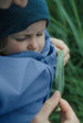 Mamalila Rain Jacket for Babywearing - Vintage Blue