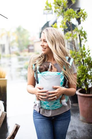Tula Free to Grow Baby Carrier - Coast Syrena Sky - Slings and Things