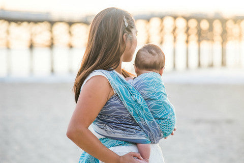 Tula Lorelei Anthias Woven Wrap - Slings and Things