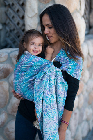 Tula Poise Wrap Conversion Ring Sling - Artist - Slings and Things