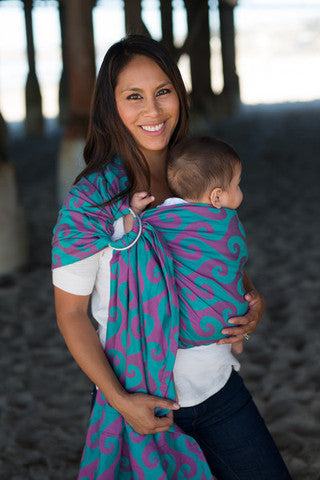 Tula Surf Wrap Conversion Ring Sling - Hanalei - Slings and Things