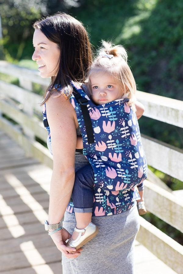 Tula Toddler Carrier -  Twilight Tulip - Slings and Things