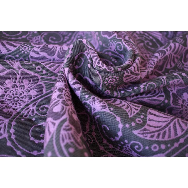Yaro Ring Sling - Ava Ultra Petrol Purple Tencel