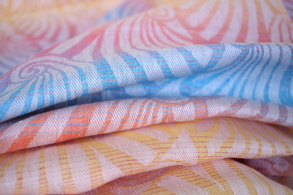 Yaro Ring Sling - Dandy Spring Rainbow All Linen - Slings and Things