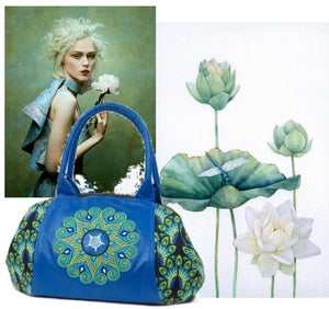 Peacock and Mandala Bag
