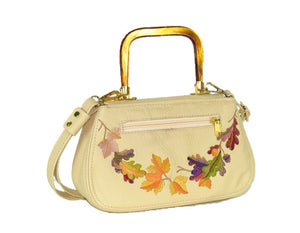 Autumn Garland Mini Top Handle Bag back view