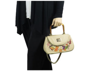 Autumn Garland Mini Top Handle Bag model view