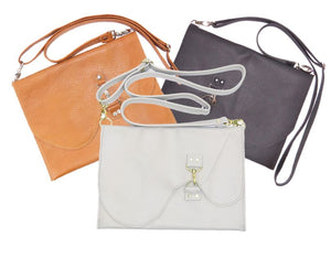 Basic Leather Cross Body Large Size Group