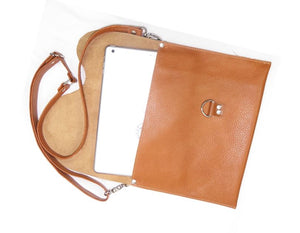 Basic Leather Cross Body Large Size iPad view