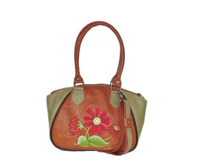 Bohemian Bloom Satchel