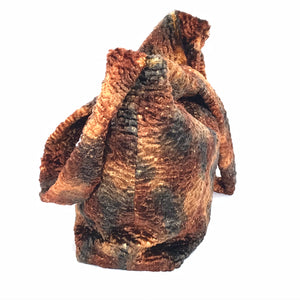 Cornish Rex Fur Bag side view