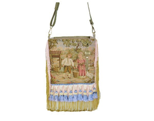 French Country Farm Children Tapestry Cottagecore Bag