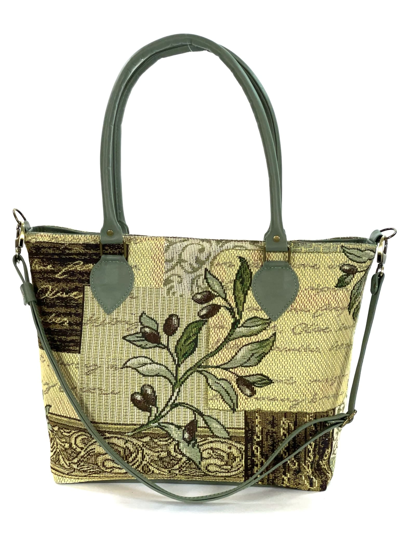 Green Olive Oversize Tote