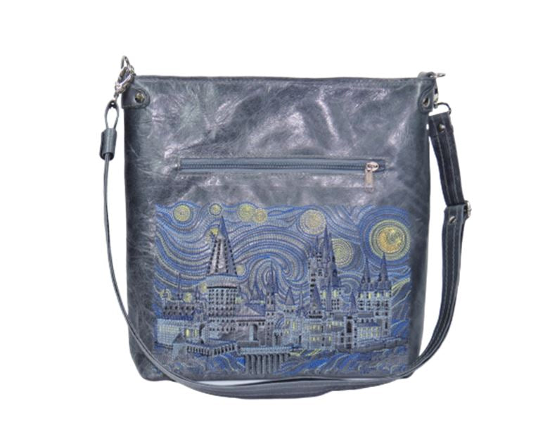 Hogwarts Starry Night Crossbody