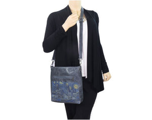 Hogwarts Starry Night Crossbody model view