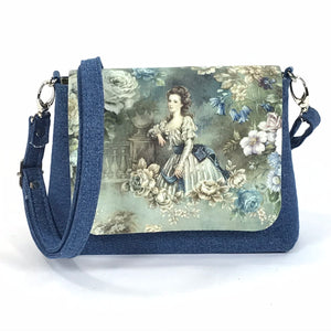 Lady of the Garden Cottagecore Mini Flap Bag
