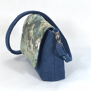 Lady of the Garden Cottagecore Mini Flap Bag side view
