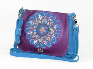 Little Mandala Messenger Cross Body Bag