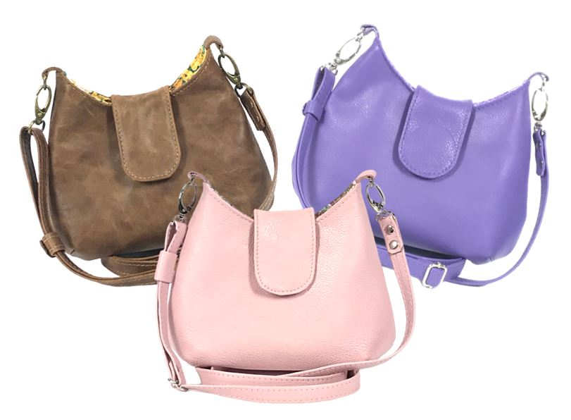 Mini Leather Hobo Bags
