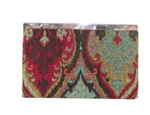 Moroccan Tapestry Wallet back view
