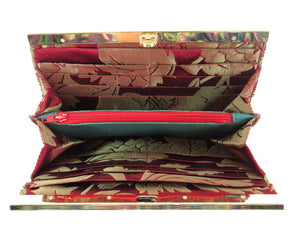 Moroccan Tapestry Wallet interior
