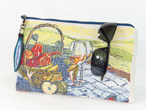 Picnic in the Park Zipper Pouch
