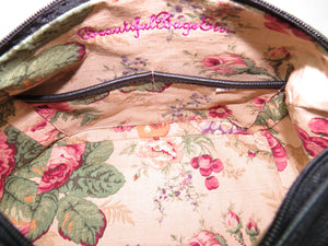 Roses For Millie Satchel interior pockets