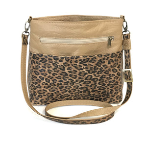 Savanna Crossbody Camel Tan