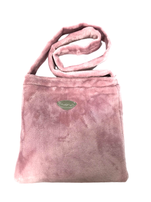 Snuggle Pink Fur Bag